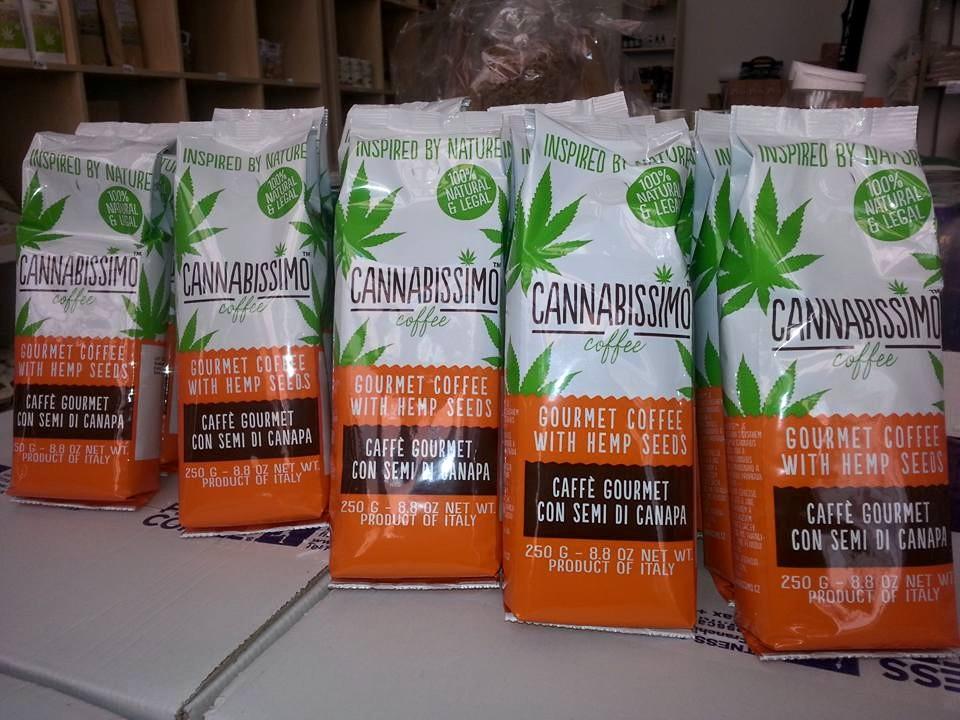 Kannabis-Kaffee