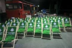 Liege-Stühle
